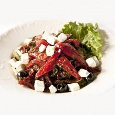 Itališkos salotos su vištiena, saulėgrąžomis Trakų Vokėje